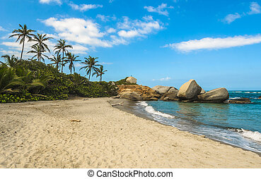 Arrecifes Beach, Tayrona national park, Colombia
