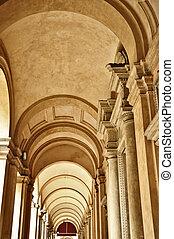 Portico, Bologna, Italy