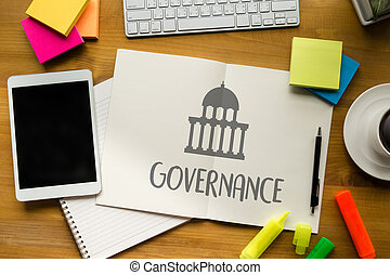 GOVERNANCE and building, Authority Computing Computer Laptop...