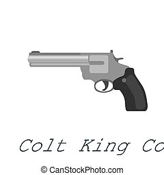 Colt King Cobra is a medium frame double-action revolver...