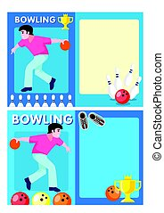 Light Bowling Club Flyers