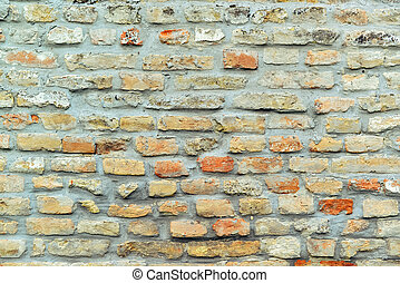 Classic old brick wall texture