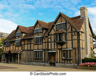 Birthplace of Shakespeare - William Shakespeares Birthplace,...