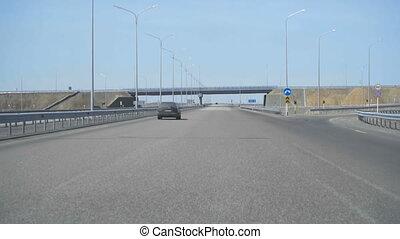 New highway in Kazakhstan