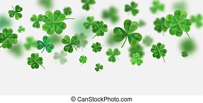 Background for St. Patrick's. Vector illustration for design...