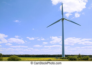 Wind turbine - renewable energy source