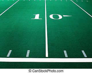 Football Field for Sports and Achievement - Football field...