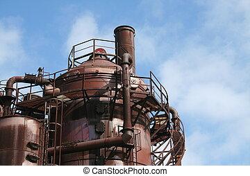 Old Gasworks at Seattle Washington