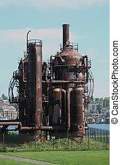 Gasworks Park at Seattle Washington