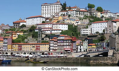 Old Porto city, Portugal - Old Porto city at sunny summer...