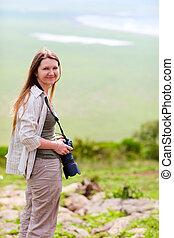 Nature photographer portrait