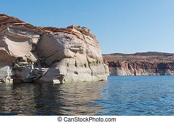 Antelope Canyon walls - Navajo sandstone walls, Antelope...