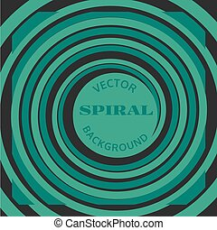 Abstract spiral background - Abstract spiral geometric...