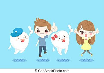 children with tooth