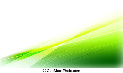 Abstract shiny green stripes video animation - Abstract...