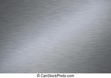 Stainless steel - Shiny stainless steel horizontal...