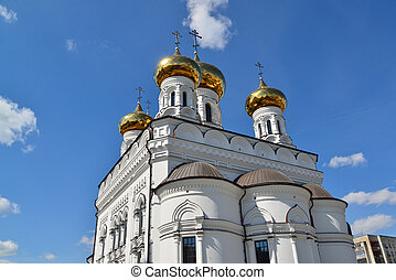 Church of Alexander Nevsky in Tver, Russia - Church of...