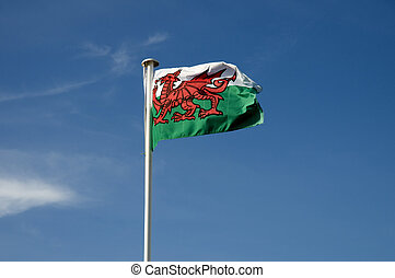 Welsh Flag - The flag of Wales