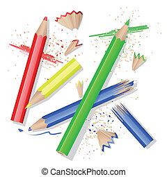 Colors pencils