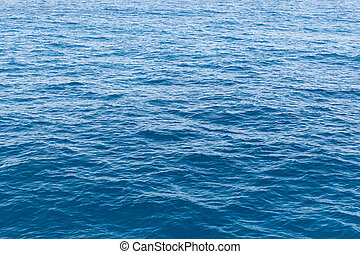sea or ocean blue water surface