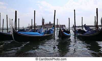 gondola Venice Venezia Italy spring video 1080p - DSLR Full...