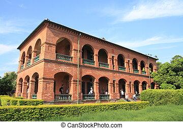 fort San Domingo in Tamsui, Taipei, Taiwan