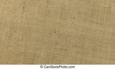 Approximation and rotation of the burlap texture, shot...