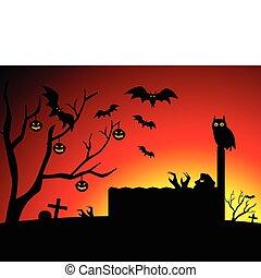 abstract halloween wallpaper vector
