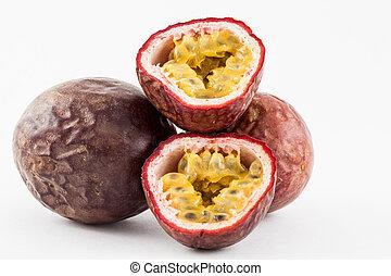 Gulupa (Passiflora edulis fo. Edulis)