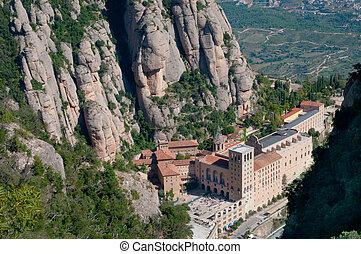 Montserrat Monastery - Montserrat monastery , Catalonia,...