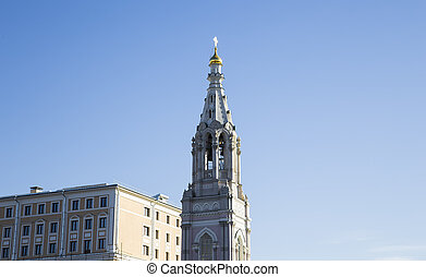 Church of Saint Sophia on the embankment of the Moskva River...