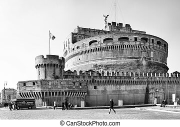 Castel Sant Angelo - Castle of the Holy Angel, Mausoleum of...