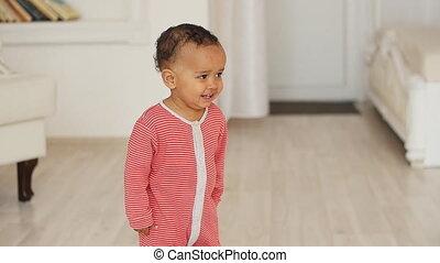 Happy Mixed Race Baby Boy - Happy smiled Mixed Race Baby Boy