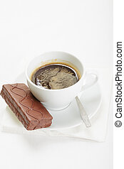 Espresso and chocolate pie - Espresso coffee and chocolate...