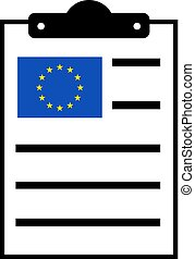 europe laws - creative design of europe laws icon