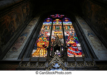Stained glass art - Beautiful artistic work - stained glass...