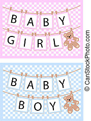 newborn cards - newborn baby cards for boys and girls
