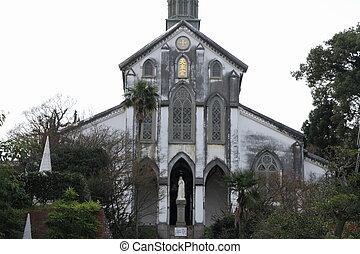 Oura church in Nagasaki, Japan