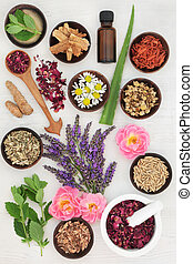 Herbs for Skincare