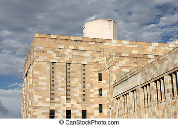 University of Queensland - Famous Forgan Smith building at...
