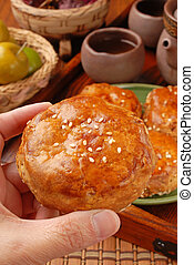 Meat pasties - Taiwan's famous cake - Meat pasties