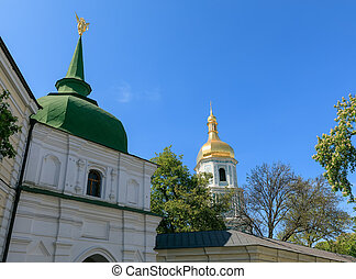 Saint Sophia Cathedral in Kyiv - Kyiv in spring time. Saint...
