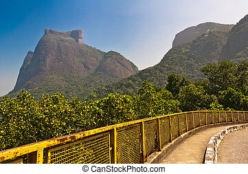 Mountain Road with Nice View - Mountain Road with Pedra da...