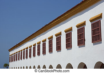 Colonial Architecture of Cartagena - Historic Spanish...