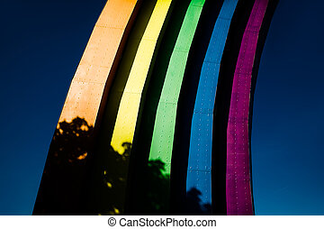 Arch of Diversity in Kyiv - Arch of Diversity (Friendship of...