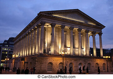 Birmingham City Hall in the evening. West Midlands, England.