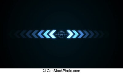 Abstract background with crosshair icon animation. Seamless...