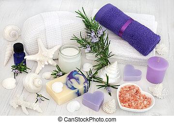 Rosemary Herb Aromatherapy Spa