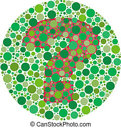 Can You See Why - Inspired by colour blind tests, the...