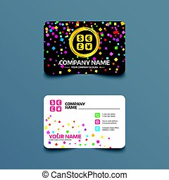 Currency exchange sign icon. Currency converter. - Business...